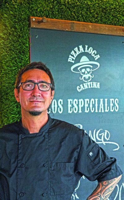 Sean Moynihan - co-owner Pizza Loca Cantina